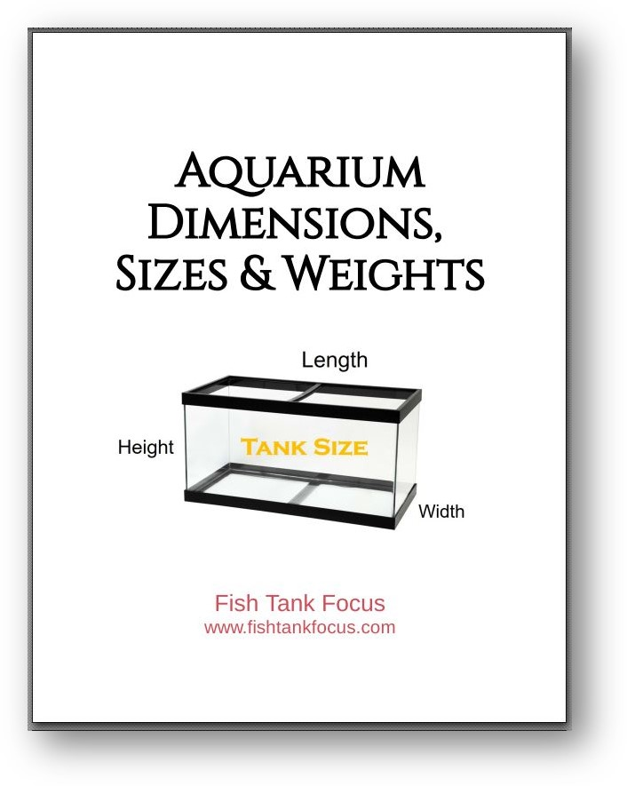 Aquarium Dimensions Booklet